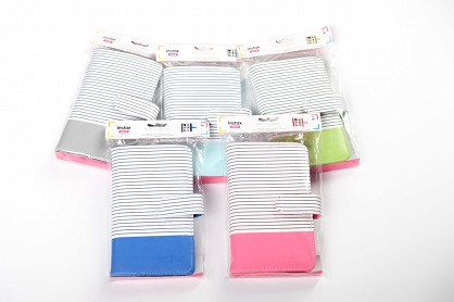 albumy instax mini striped