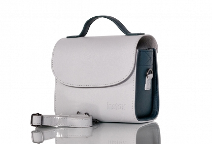 camera bag instax mini - smoky white